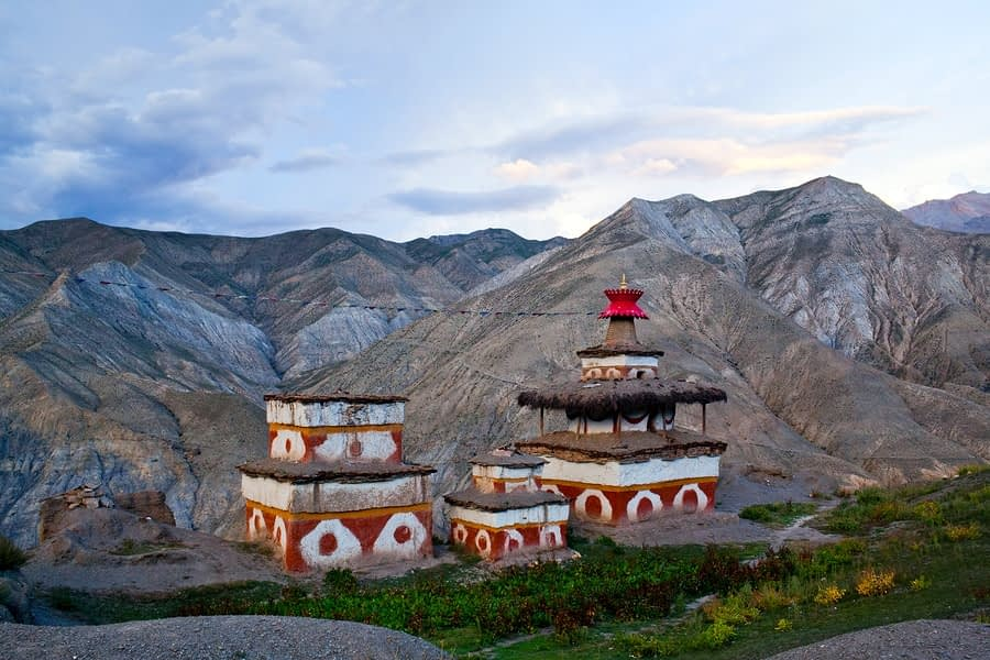 Ancient Bon Stupa in Dolpo, Nepal