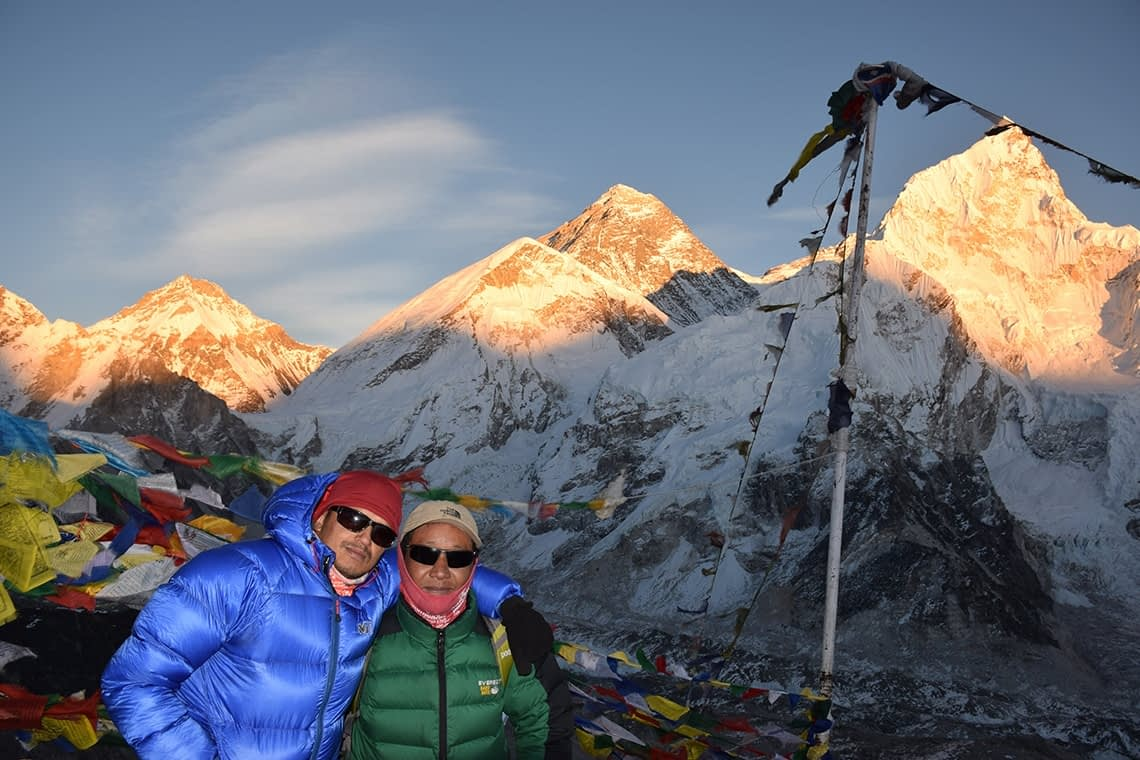Mount Everest View From Kala-Patthar